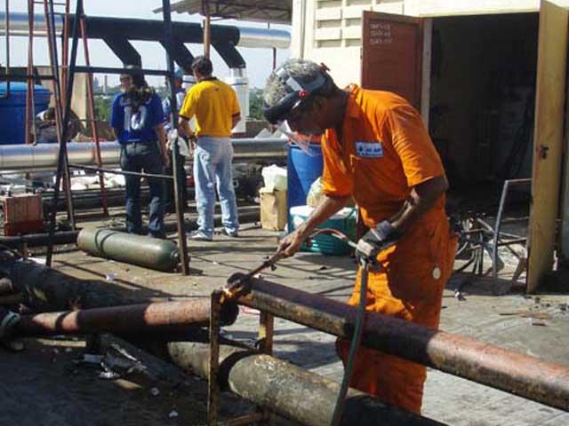 Obras Gas Air ca en Hospital Clinico